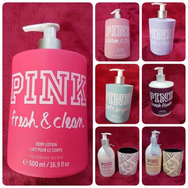 100% Authentic Victoria's Secret PINK Lotion