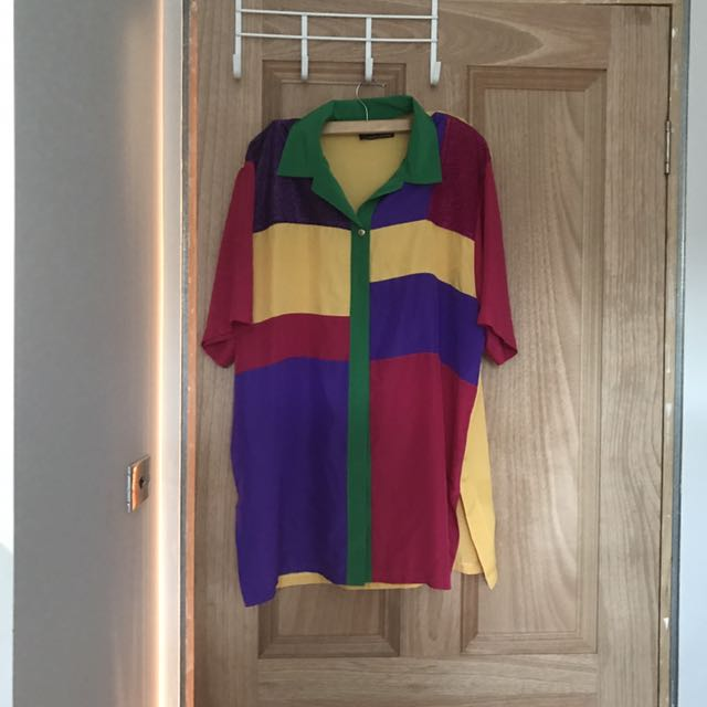 Vintage colourful shirt