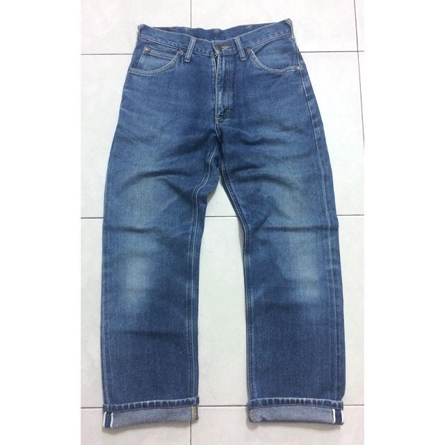 f399c3e1 VINTAGE LEE RIDERS LEFT HAND DENIM SANFORIZED SELVEDGE JEANS JAPAN ...