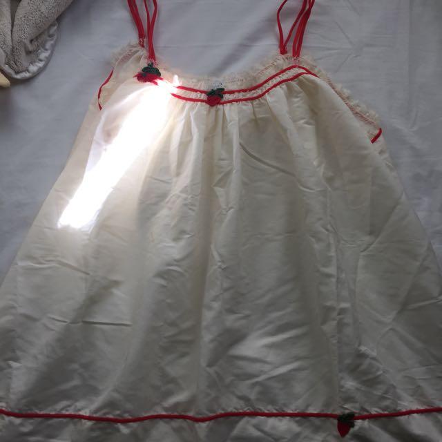 Vintage lingerie top