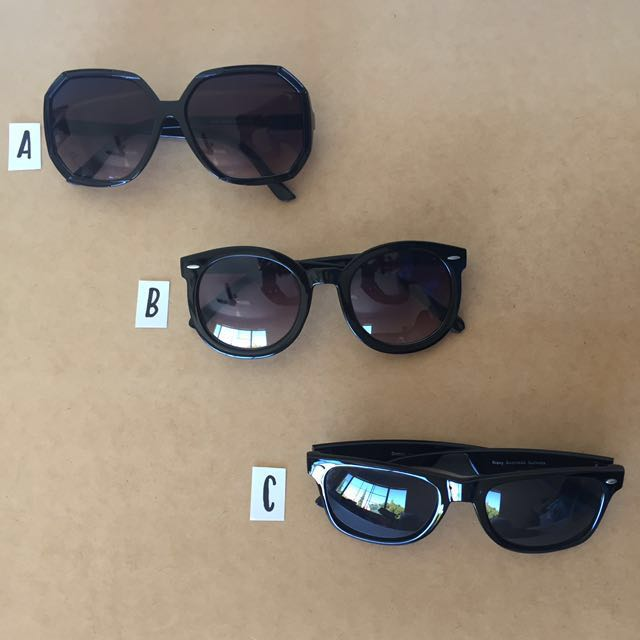 Women's Sunglasses (B = SOLD)