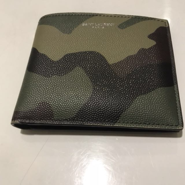 8a20681344 YSL Men Wallet Saint Laurent, Men's Fashion, Bags & Wallets on Carousell