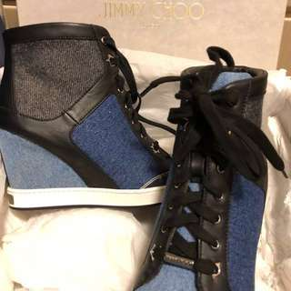 Jimmy Choo Denim Sneakers
