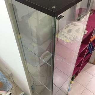 Ikea Glass door cabinet DETOLF