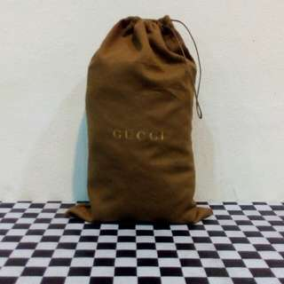 Gucci Dust Bag Heavy Cotton Made in Italy