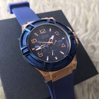 Guess Rubber Blue Strap Original
