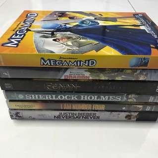 Assorted DVD movies Original