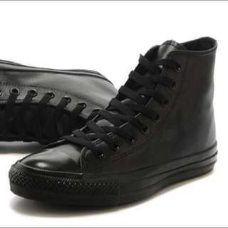 Converse All Star High Black Mono Shoes