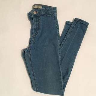 Top Shop *PETITE* Joni Jeans