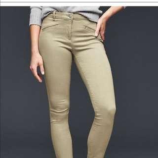 GAP modern stretch skinny pants