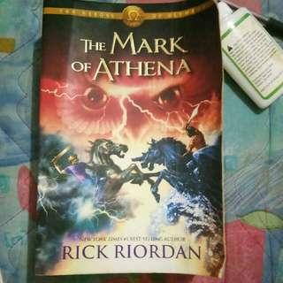 The Mark of Athena Book three