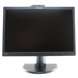 Refurbished Lenovo 22 inch wide Business LCD Monitor with webcam and microphone Warranty
