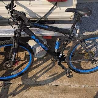 """Dual suspension 26"""" bikes"""