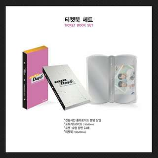 DAY6 (데이식스) (CONCERT IN October) OFFICIAL GOODS - Ticket Book Set