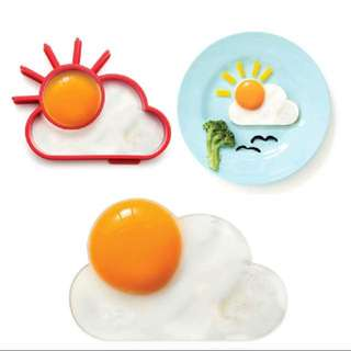 Egg Mold Fried Egg Silicone Mould Sun Human Face Smile Emoji Cat Culinary Ring Silicone Forms Pancake Breakfast Cooking Tools Kitchenware Silicone Pancake Mold