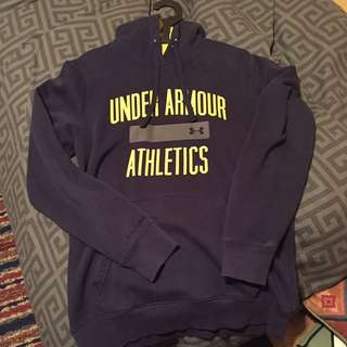 Navy Blue Under Armour Sweater