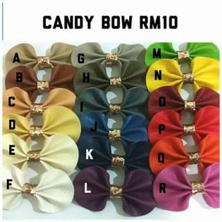 Headband Candy Bow