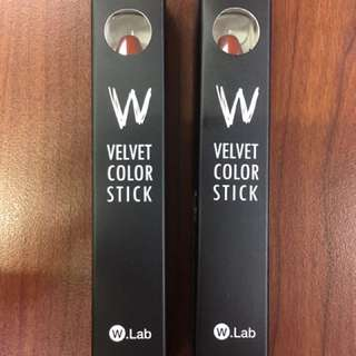 W.LAB Velvet Color Stick - Chilly Red
