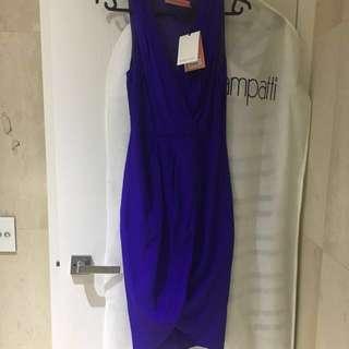 Rodeo Show cobalt dress size 8