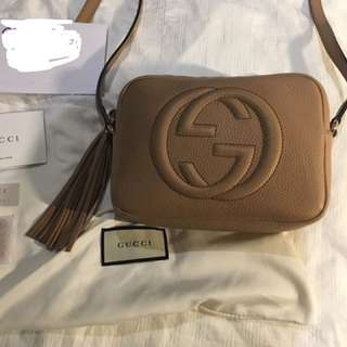 Gucci Soho Disco Bag - Rose Beige
