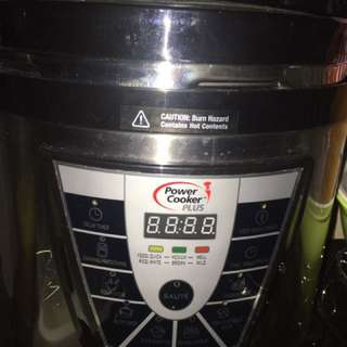 Electric Power Pressure Cooker