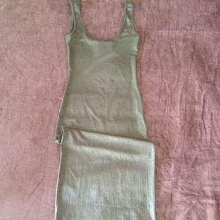 Top Shop Singlet Dress size 6