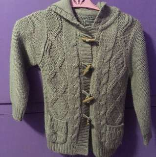 Terranova girls knitted jacket (2-3)