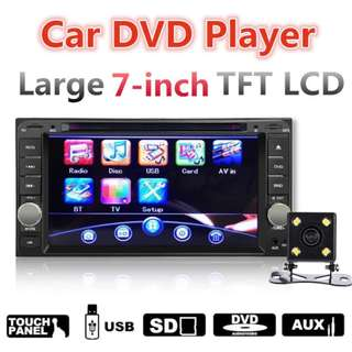 7'' Car DVD Player Stereo Radio USB For Toyota Hilux Land Cruiser Corolla Camry