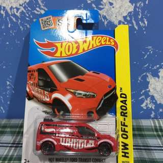 Hot Wheels Ford Transit Connect