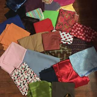 29 different fabric sheets for tailoring
