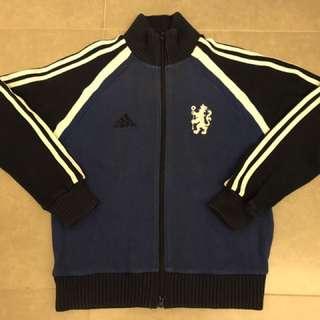 Adidas 車路士 冷外套 Chelsea Sweater Jacket