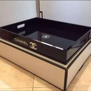 CHANEL EXTRA LARGE SIZE VANITY COSMETIC TRAY