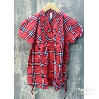 Burberry Top - Red