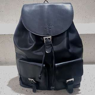 ❤'s Day Sale! Repriced: Pre❤ Authentic Prada Leather Backpack