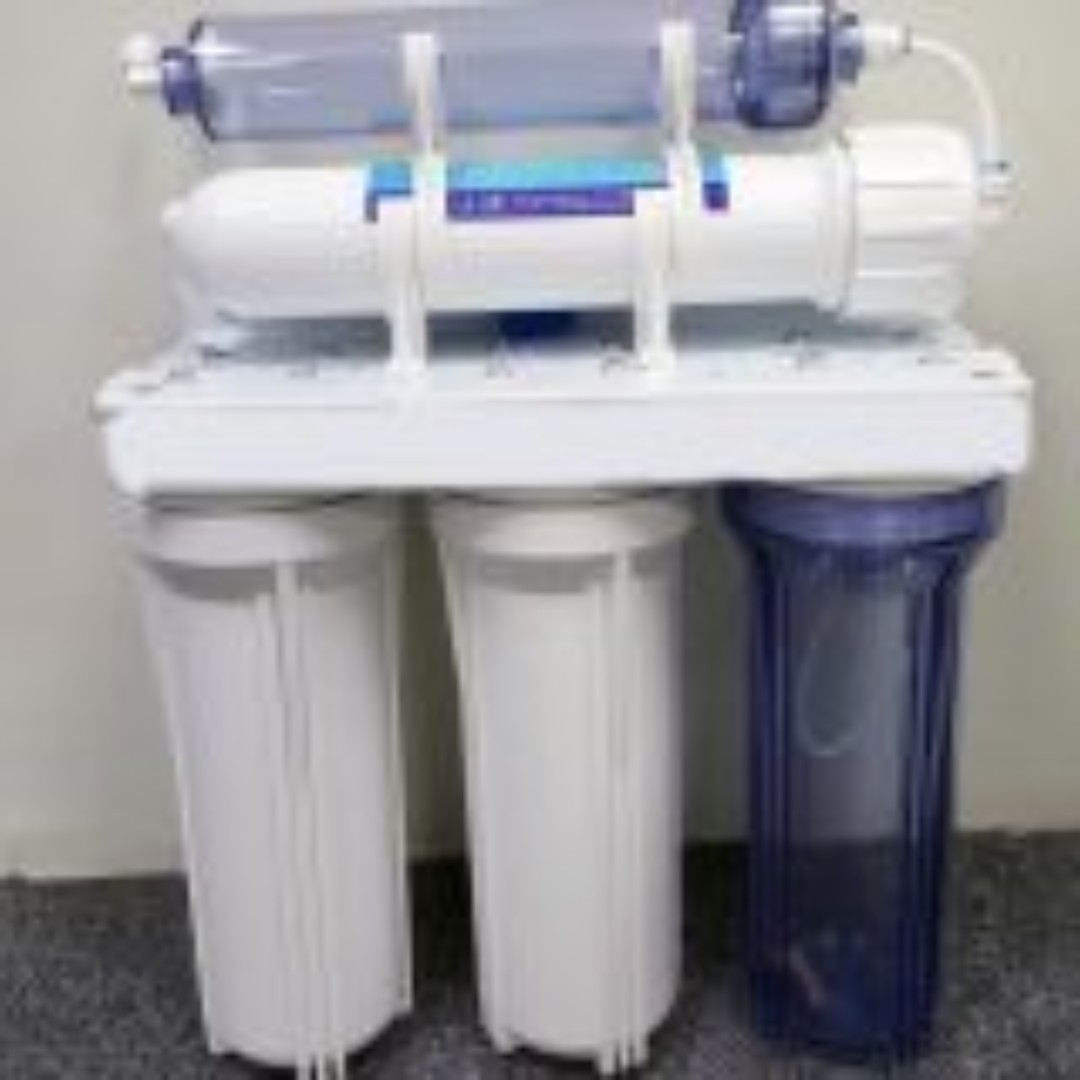 10″ Five (5) stage universal RO/ DI water filter system – 75 GPD