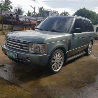 2004 Land Rover Range Rover HSE Full size with overfinch mags