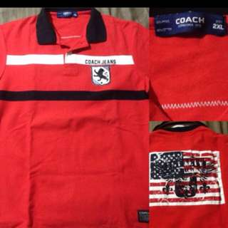 Coach polo tshirt