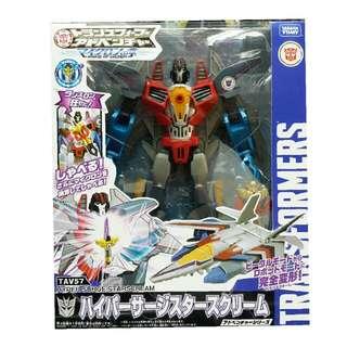 Takara Tomy transformer Tav57 hyper surage starscream