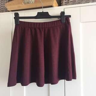 Mendocino Seven Sisters Burgundy Skirt