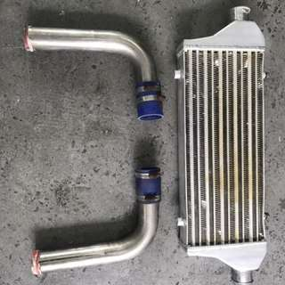 Intercooler for turbo car