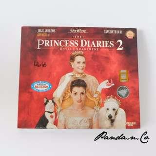 VCD Film  The Princess Diaries 2 - Royal Engagement
