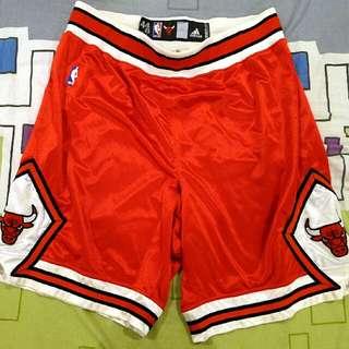 Chicago Adidas game used shorts