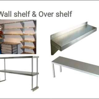 Wall Shelves and Overshelves