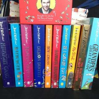 📚David Walliams Series