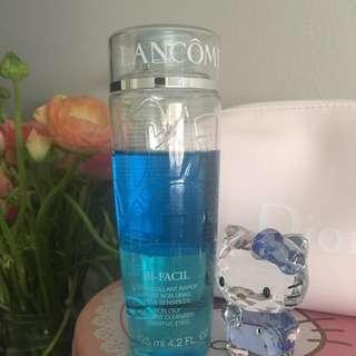 Lancôme eye & lip makeup remover