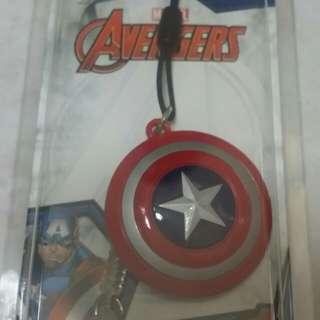 Marvel cpt america ez link charm
