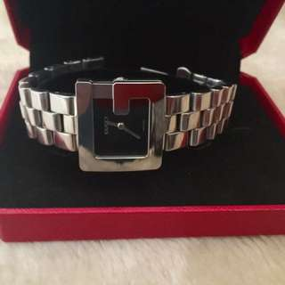 Authentic GUCCI 3600 J Stainless Steel Swiss Made Watch
