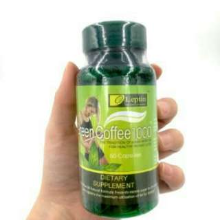 Leptin Green Coffee 1000 Capsule Diet Green Coffee SUPLEMMENT