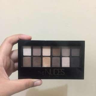 PRELOVED Maybelline The Nudes Eyeshadow Pallete