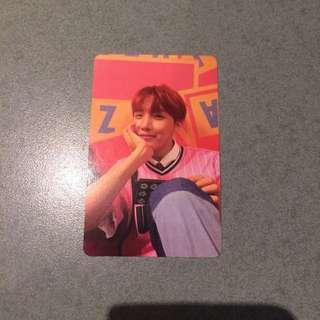 WTT: BTS 'Her' J Hope 'E' Version Photocard